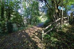Tarka Trail near Servis Farm Royalty Free Stock Image