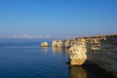 Tarkhankut, litorale del Mar Nero Immagine Stock Libera da Diritti