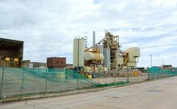 tarmac Заасфальтируйте машинное оборудование & депо New Haven, Сассекс стоковые изображения rf