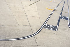 Tarmac. This image shows a empty tarmac royalty free stock images