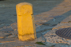 Tarmac post Royalty Free Stock Photos