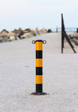 Tarmac post Royalty Free Stock Photography