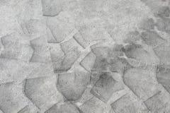 Tarmac-texture. Grey tarmac-texture with big tire-imprints stock photography