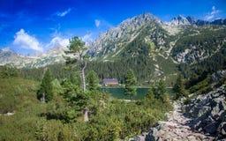 Tarn σε υψηλό Tatras, Σλοβακία Στοκ φωτογραφίες με δικαίωμα ελεύθερης χρήσης