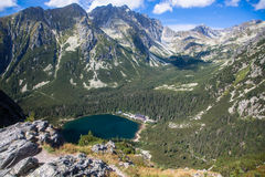 Tarn σε υψηλό Tatras, Σλοβακία Στοκ εικόνες με δικαίωμα ελεύθερης χρήσης