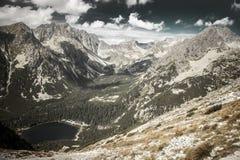 Tarn σε υψηλό Tatras, Σλοβακία Στοκ φωτογραφία με δικαίωμα ελεύθερης χρήσης