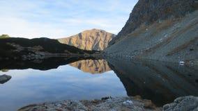 Tarn στα βουνά Tatry Στοκ Φωτογραφία