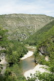 Tarn Canyon in France Stock Photo