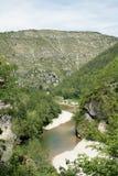 Tarn Canyon in France Stock Photo