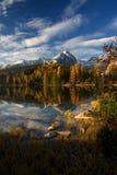 Tarn em Tatras alto fotos de stock
