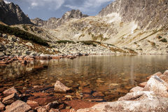 Tarn in High Tatras, Slovakia Royalty Free Stock Photo
