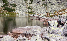 Tarn in High Tatras, Slovakia Royalty Free Stock Photos