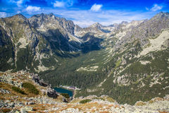 Tarn in High Tatras, Slovakia Royalty Free Stock Image