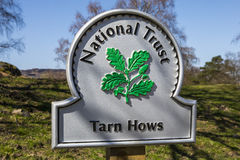 Tarn Hows in the Lake District Royalty Free Stock Photo