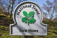 Tarn Hows in the Lake District Stock Image