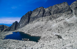 Tarn in mountains Royalty Free Stock Image