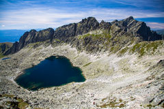 Tarn in mountains Stock Photography