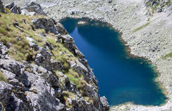 Tarn in mountains Stock Photo