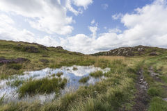 Tarn near Moss Crag Stock Photos