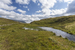Tarn near Moss Crag Stock Photo