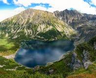 Tarn in polish Tatra mountains. Czarny Staw Gasiennicowy pond in polish Tatra mountains Royalty Free Stock Photography