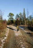 Tarn que congela-se sobre Foto de Stock Royalty Free