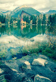 Tarn Strbske pleso, Slovakia Royalty Free Stock Photos