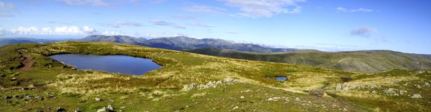 Tarn on the Summit Stock Photo