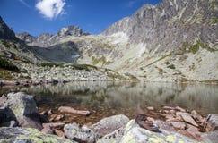 Tarn w Wysokim Tatras, Sistani zdjęcia stock