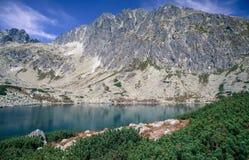 Tarn w Wysokim Tatras, Sistani obraz royalty free