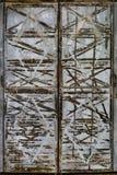 Tarnished дверь металла стоковые фото