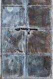 Tarnished дверь металла стоковая фотография rf