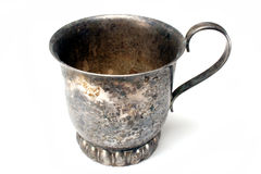 Tarnished Cup Stock Photos