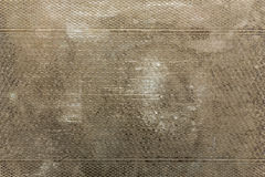 Tarnished grungy patterned metal background Stock Photo
