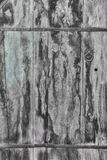 Tarnished Wood Door Royalty Free Stock Photography