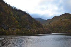 Tarnita湖,科鲁,特兰西瓦尼亚,罗马尼亚 库存照片