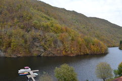 Tarnita Lake, Cluj, Transylvania, Romania Royalty Free Stock Photography