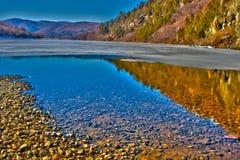 Tarnita Lake HDR Royalty Free Stock Photos