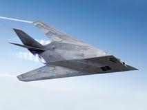 Tarnkappenflugzeug Stockfoto