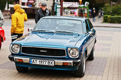 Tarnopol, Ukraine - October 09, 2016: Classic retro car Corolla Royalty Free Stock Photos