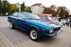 Tarnopol, Ukraine - October 09, 2016: Classic retro car Corolla Stock Photos