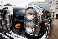 Tarnopol, Ukraine - October 09, 2016: Classic retro car Mercedes Royalty Free Stock Images