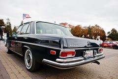 Tarnopol, Ukraine - October 09, 2016: Classic retro car Mercedes Royalty Free Stock Photos