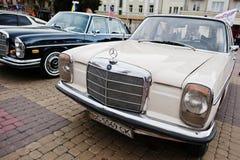 Tarnopol, Ukraine - October 09, 2016: Classic retro car Mercedes Stock Photos