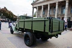 Tarnopol, Ukraine - October 09, 2016: ZIS-5 was a 4x2 Soviet tru Royalty Free Stock Photo