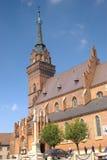 Tarnow,波兰大教堂  图库摄影