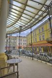 Tarnow,波兰建筑学  免版税库存图片