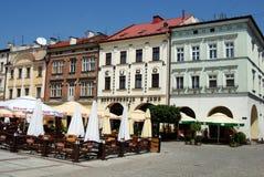 Tarnow, Poland: Quadrado de Rynek Imagens de Stock