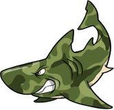 Tarnung-Haifisch vektor abbildung