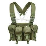 Tarnung, Militärschutzkleidung, Mannequin Stockbild